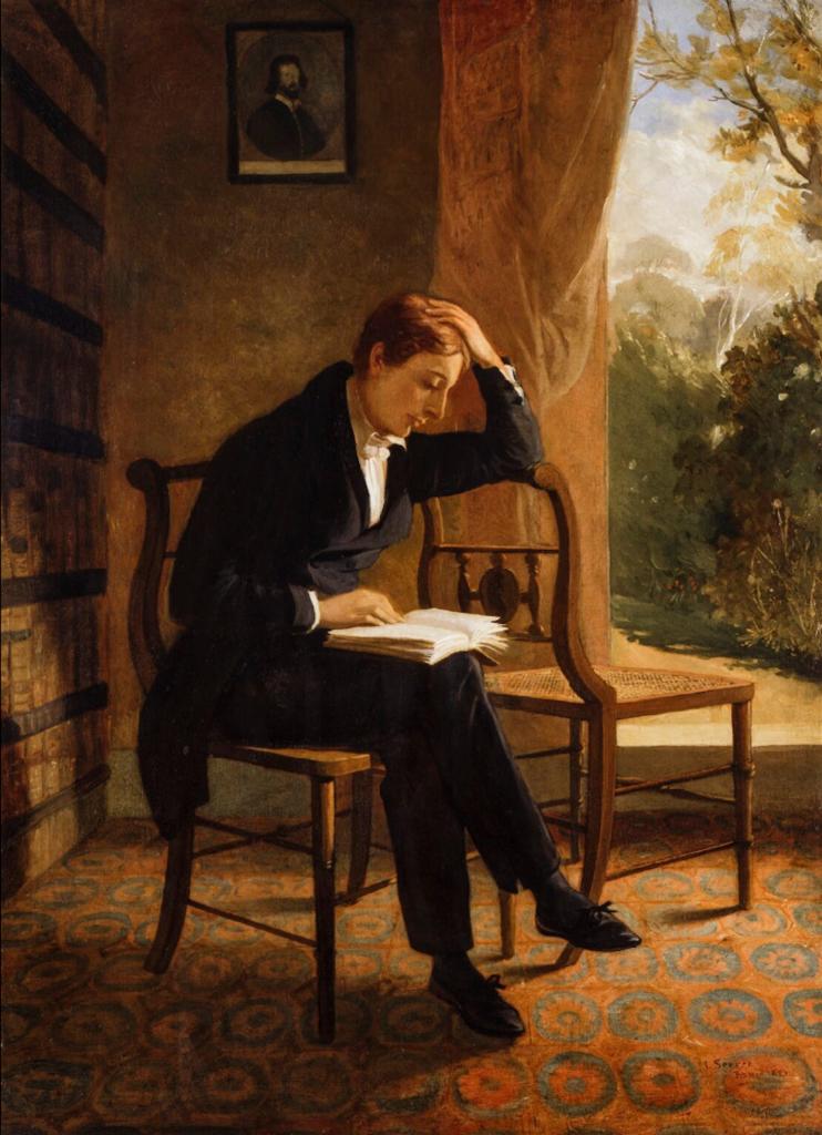 John Keats. Portrait by Joseph Severn
